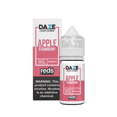 ЖИДКОСТЬ 7 DAZE REDS SALT SERIES: APPLE STRAWBERRY 30ML
