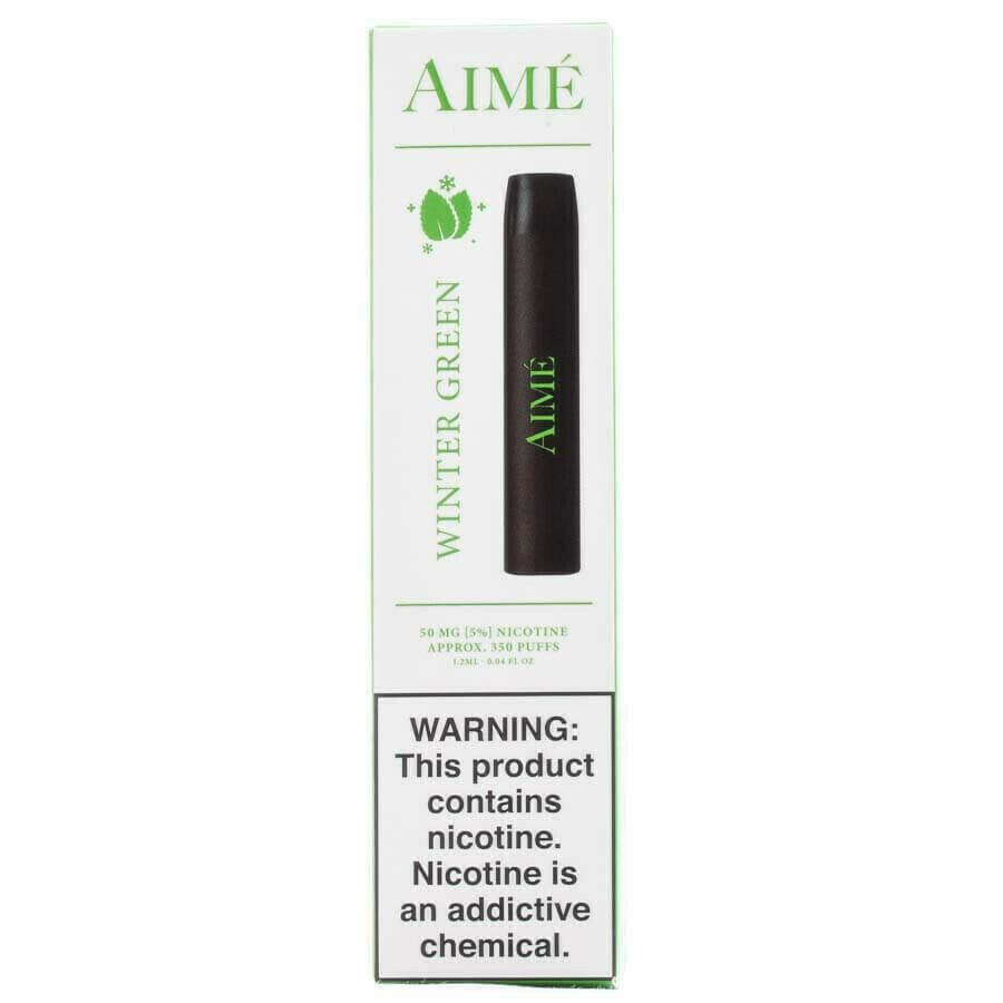 AIME DISPOSABLE POD: WINTER GREEN