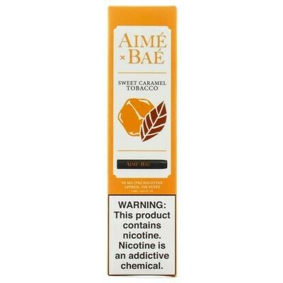 AIME X BAE DISPOSABLE POD: SWEET CARAMEL TOBACCO