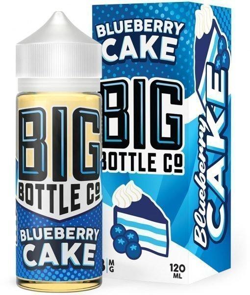 ЖИДКОСТЬ BIG BOTTLE: BLUEBERRY CAKE 120ML