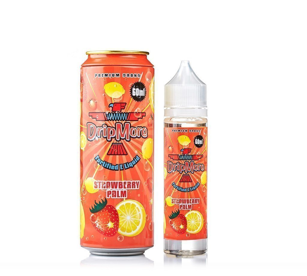 ЖИДКОСТь DRIP MORE:  STRAWBERRY PALM 60ML