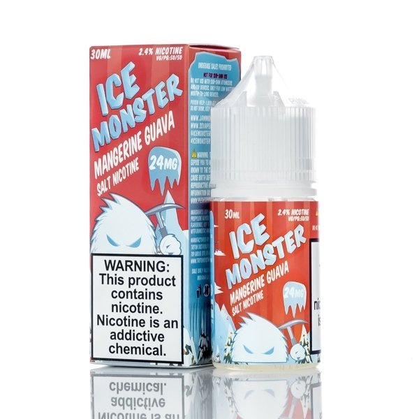 ICE MONSTER SALT: MANGERINE GUAVA 30ML