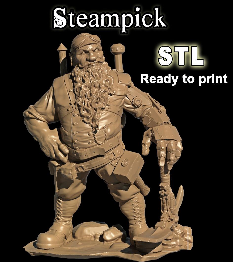 STEAMPICK STL