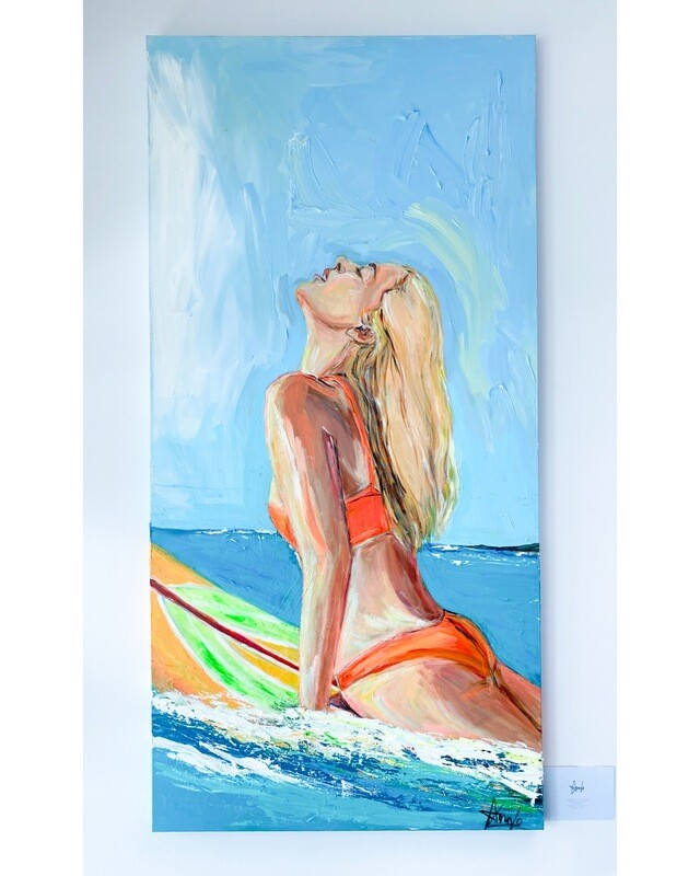DREAMING OF SAN DIEGO(30''x 60'')