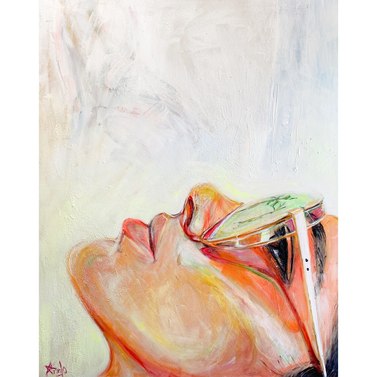 DREAMING ABOUT YOU (48''x 60'')