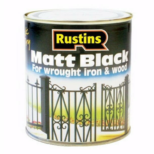 Quick Dry Black Matt