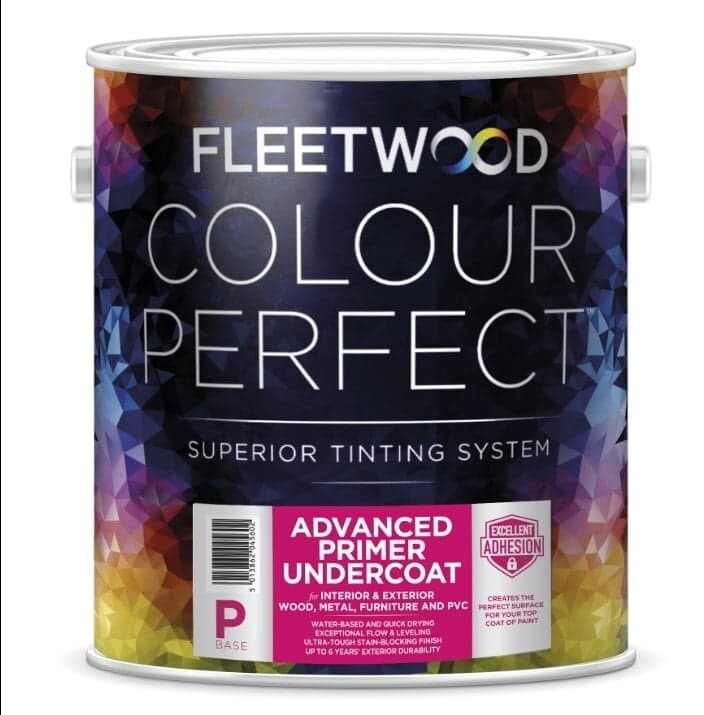 Fleetwood Advanced Primer Undercoat All Colours