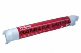 ProDec Polythene Dust Sheet Roll 50m x 2m