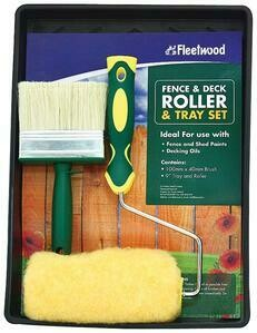 FLEETWOOD FENCE & DECKING ROLLER SET 9