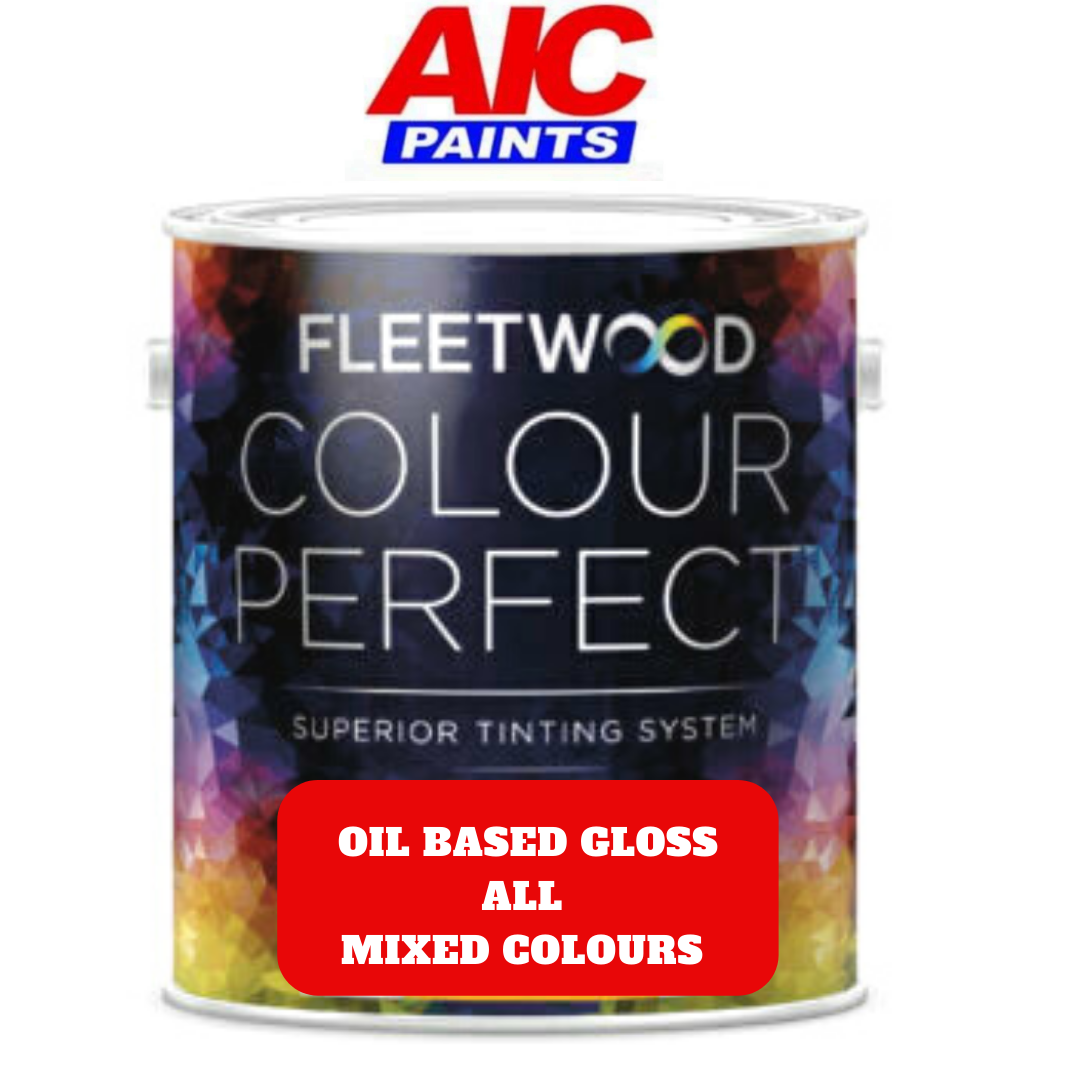 Fleetwood High Gloss Oil Based Colours
