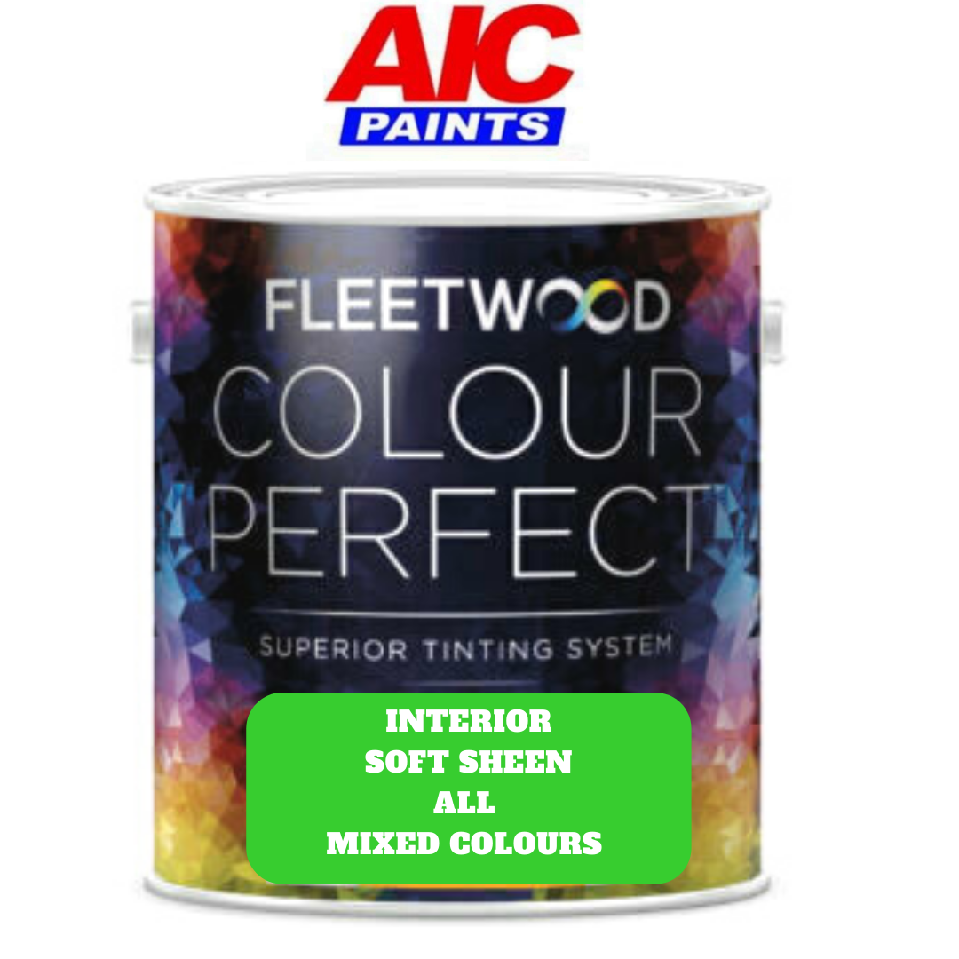 Fleetwood Soft Sheen Based Colours