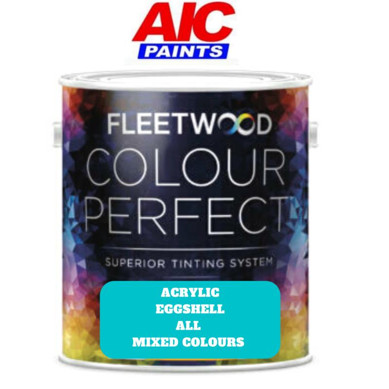 Fleetwood Acrylic Eggshell All Colours