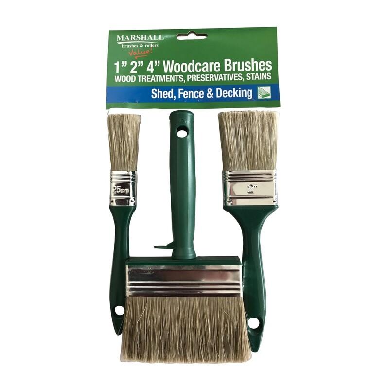 Marshall Woodcare Brush Pack