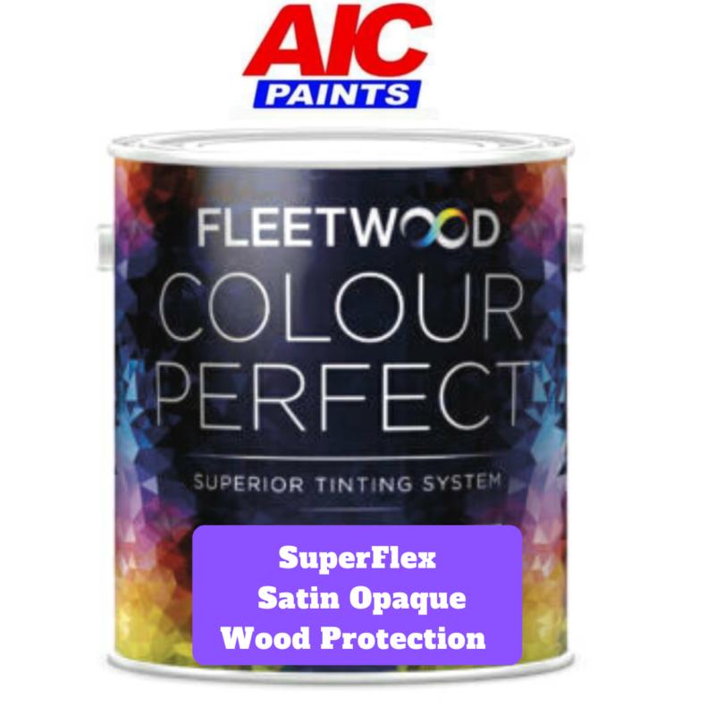 Fleetwood Superflex Satin Opaque Wood Protection