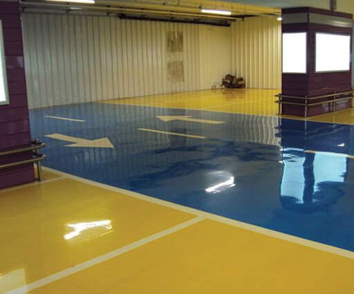 ViterFloor P300 High Build Epoxy Floor Coating 12.5Kg  Colours