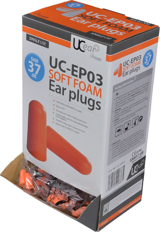 Safety Ear Plugs Box