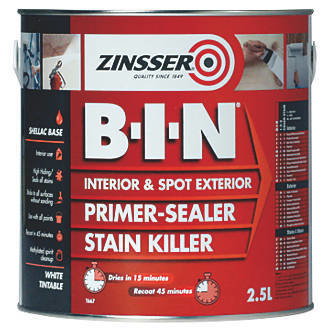 B-I-N® is the ultimate primer, sealer and stain killer