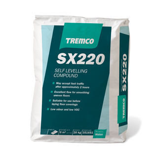 TREMCO SX220 Fast Set Smoothing Compound 20KG