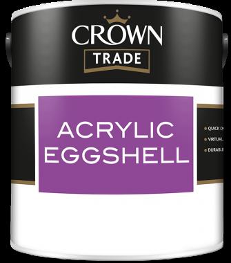 CROWN TRADE ACRYLIC EGGSHELL