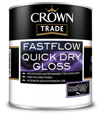 CROWN TRADE FASTFLOW QUICK DRY GLOSS