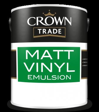 CROWN TRADE MATT VINYL EMULSION