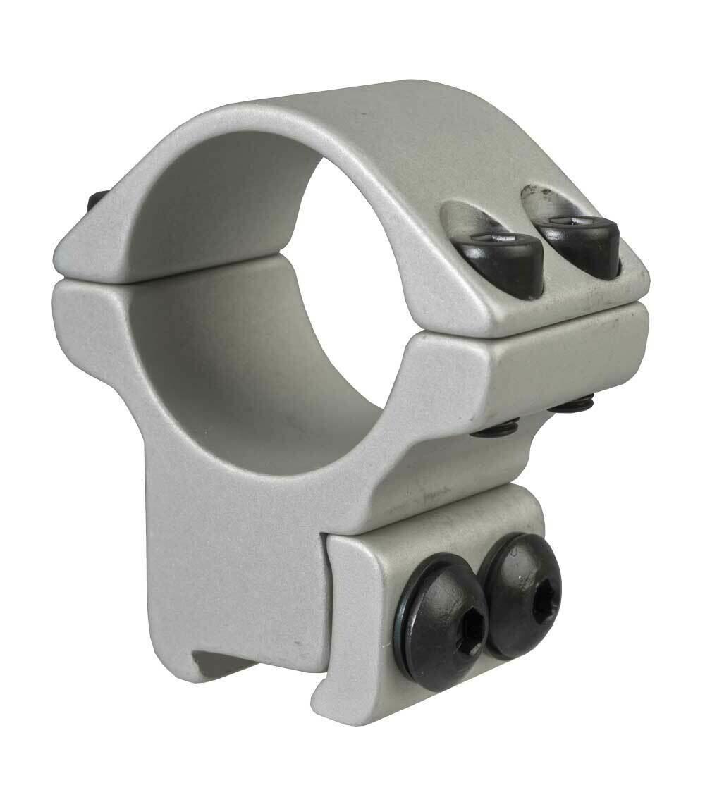 Blueprint Mounts 30mm Double Strap High Silver