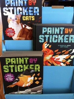 Paint By Stickers for Adults and Kids