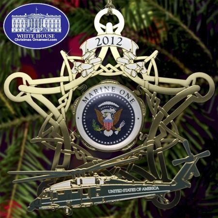 Ornaments - Secret Service 2012 Marine One