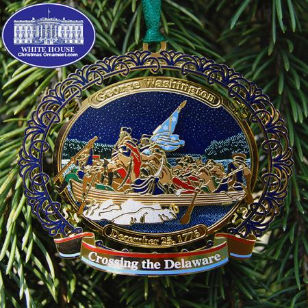 Ornaments - WDC Series Crossing the Delaware