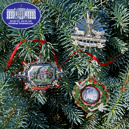 Ornaments - White House 2013 Collection (Set of 3)