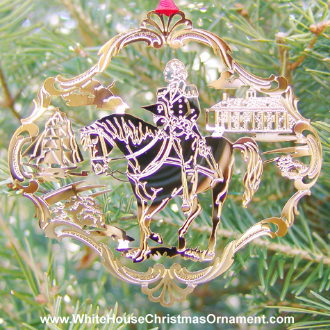 Ornaments - Mount Vernon 1992 George Horseback