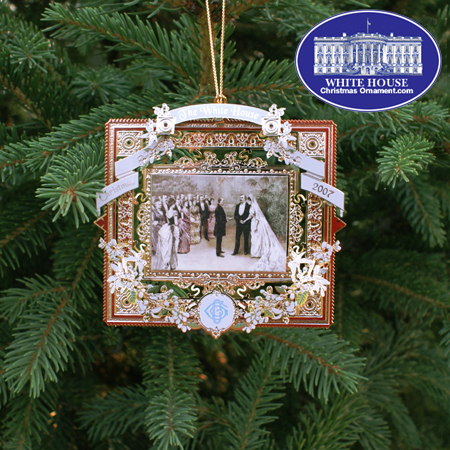 Ornaments - White House 2007 Grover Cleveland - FIRST ADMINISTRATION