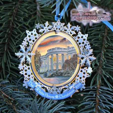 Ornaments - White House 2009 Grover Cleveland