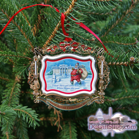 Ornaments - White House 2011 Theodore Roosevelt
