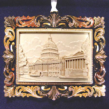 Ornaments - US Capitol 2001 Marble