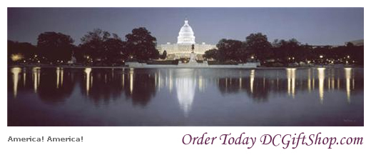 Gifts - Lithograph - America  America  US Capitol Building
