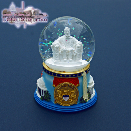 Gifts - Snow Globe - Linclon Memorial - NT55