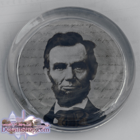 Gifts - Paperweight - Abraham Lincoln