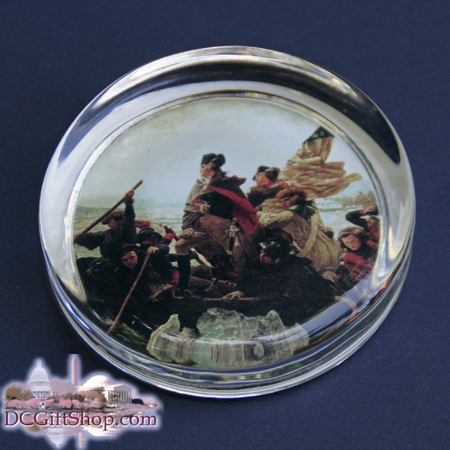 Gifts - Paperweight - George Washington Crossing the Delaware River