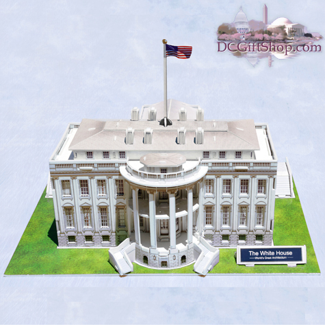 Gifts - Puzzle - White House 3D