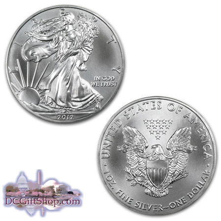 Gifts - Coins - 1oz Silver American Eagle (2012)