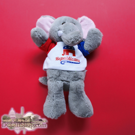 Gifts - Presidential Poll - Republican Stuffed Toy Elephant