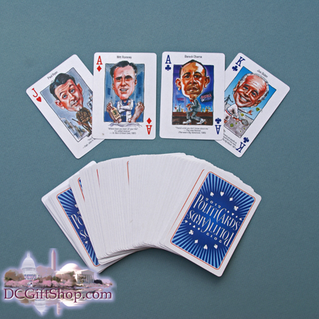 Gifts - Cards - 2012 Political Playing