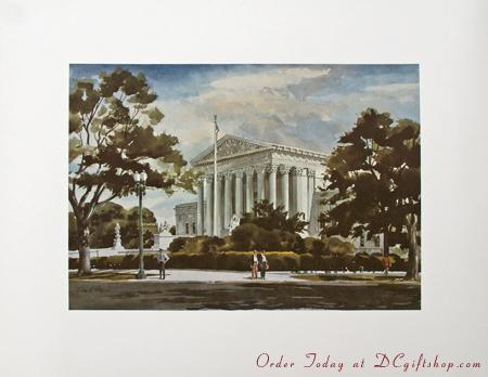 Print - United States Supreme Court Building