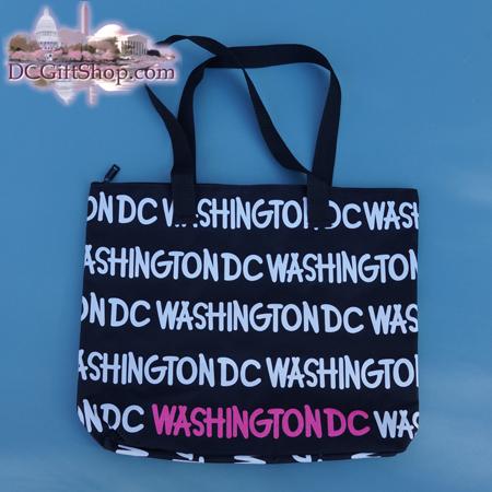 Gifts - Tote Bag - Washington DC Black