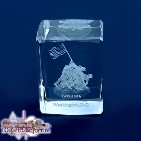 Gifts - Glass Etch - Marine Corps War Memorial
