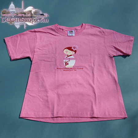 Gifts - Cherry Blossoms - Kids Cherry Blossom Doll Shirt