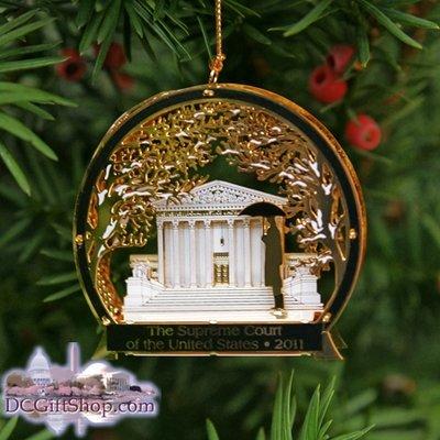Ornaments - Supreme Court 2011 Winter Scene