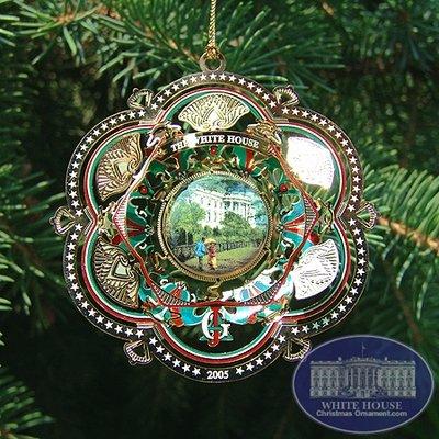 2005 White House James A. Garfield Ornament