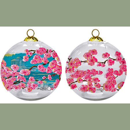 2018 National Cherry Blossom Festival Ornament